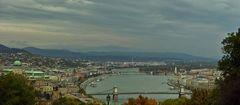 Panoramablick über Buda & Pest