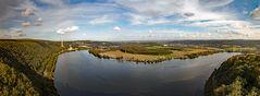 Panoramablick über das Ruhrtal