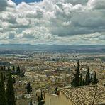 Panoramablick über Granada