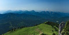 Panoramablick vom Roßstein