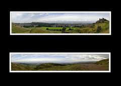 Panoramen vom Arthur's Seat