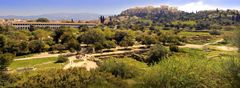 Panoramic View of Ancient Athens (reworked)