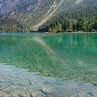 Panoramica al lago di Tovel (Trentino)