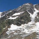 Panoramica dei giacciai del Sesia