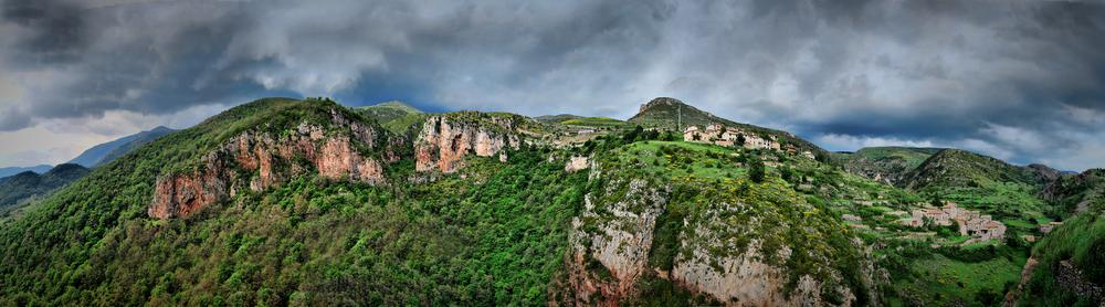 Panoramica desde Castellar de N'hug