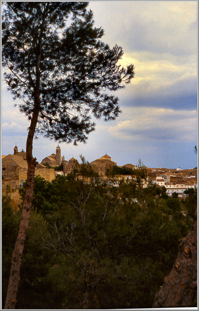 Panoramica di Baeza