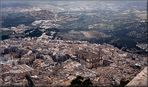 Panoramica di Jaén con la Cattedrale.