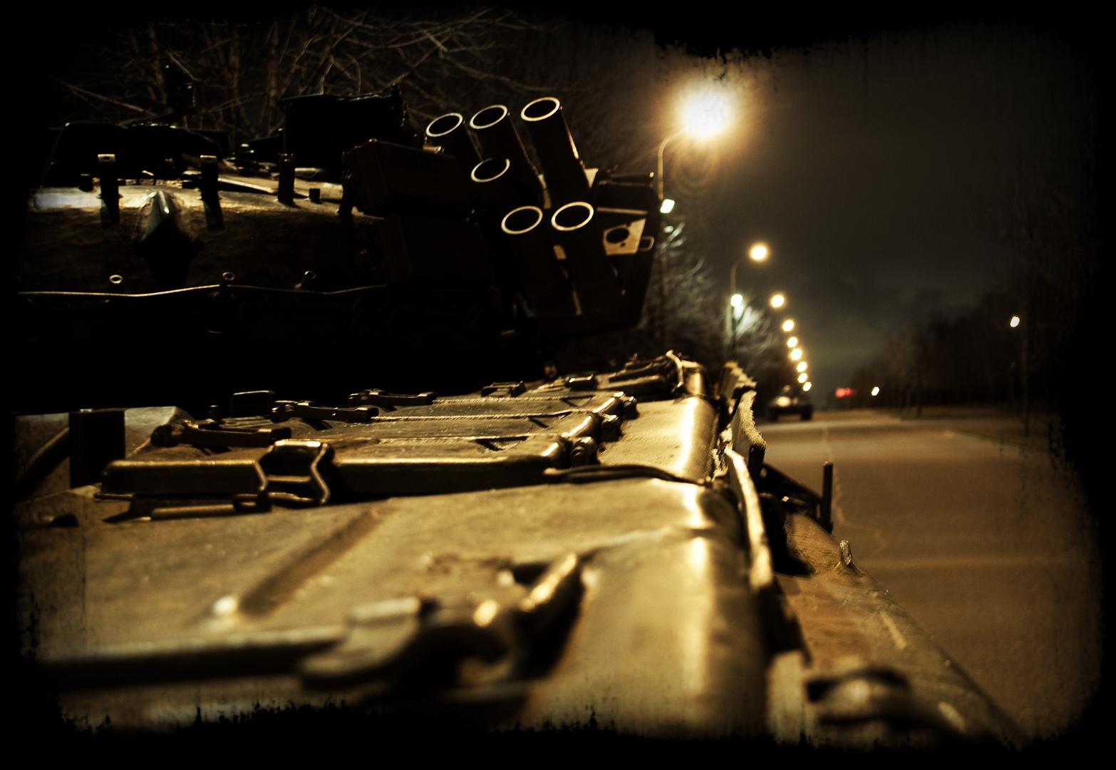 Panzer im Park