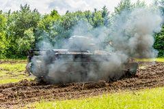 Panzer im Rückwärtsgang