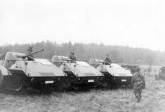 Panzerattrappen 1959 in Koblenz