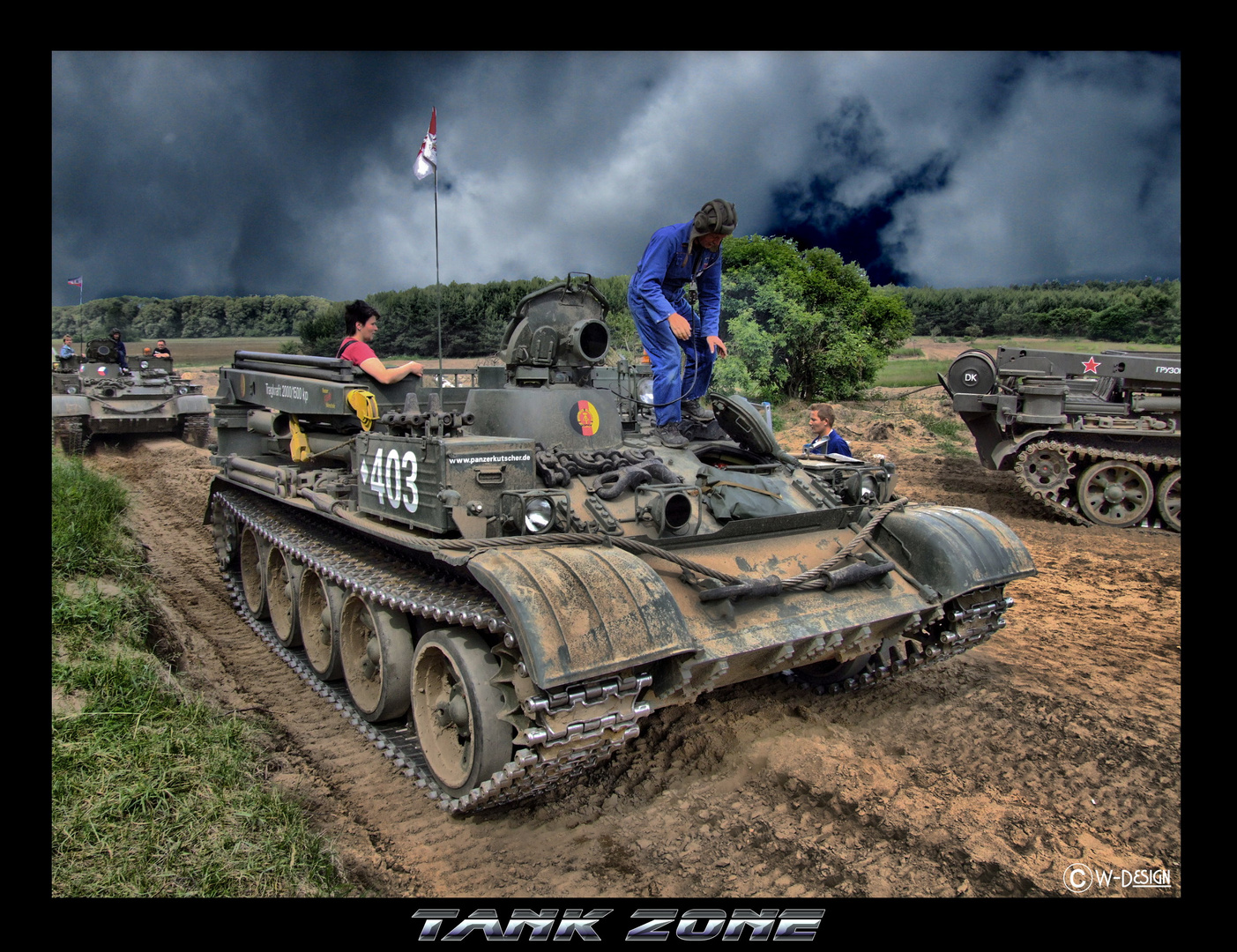 Panzerfahrschule Beerfelde
