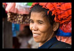 Pao-Woman at the market