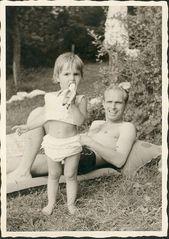 Papa und ich anno....