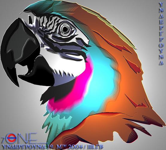 Papagei Tungsten