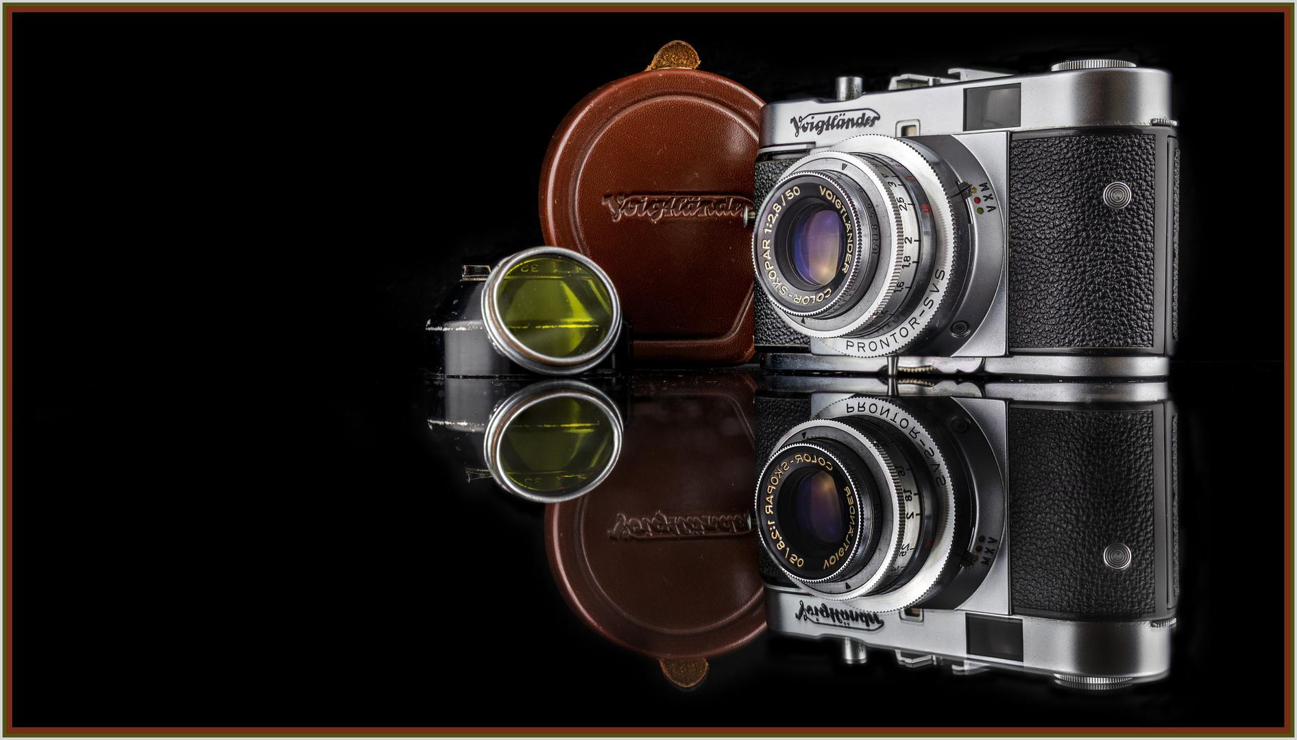 Papas erster Fotoapparat - analoges digital festgehalten