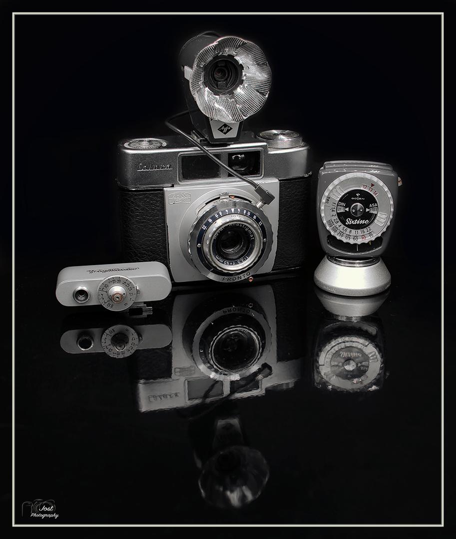 Papas Fotoausrüstung ...