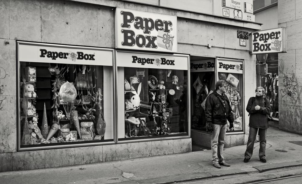 Paper Box in Graz mit Fotofreunden!