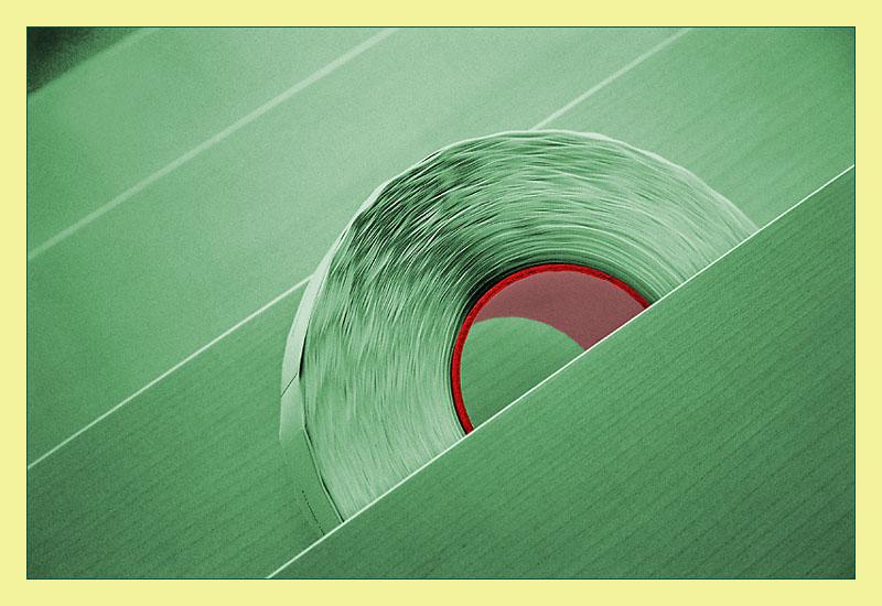 Papier-Rolle