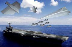 Papierflugzeugträger.....