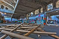 Papierlose Kunst in Papierfabrik