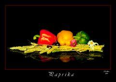 Paprika Rot, Gelb, Grün