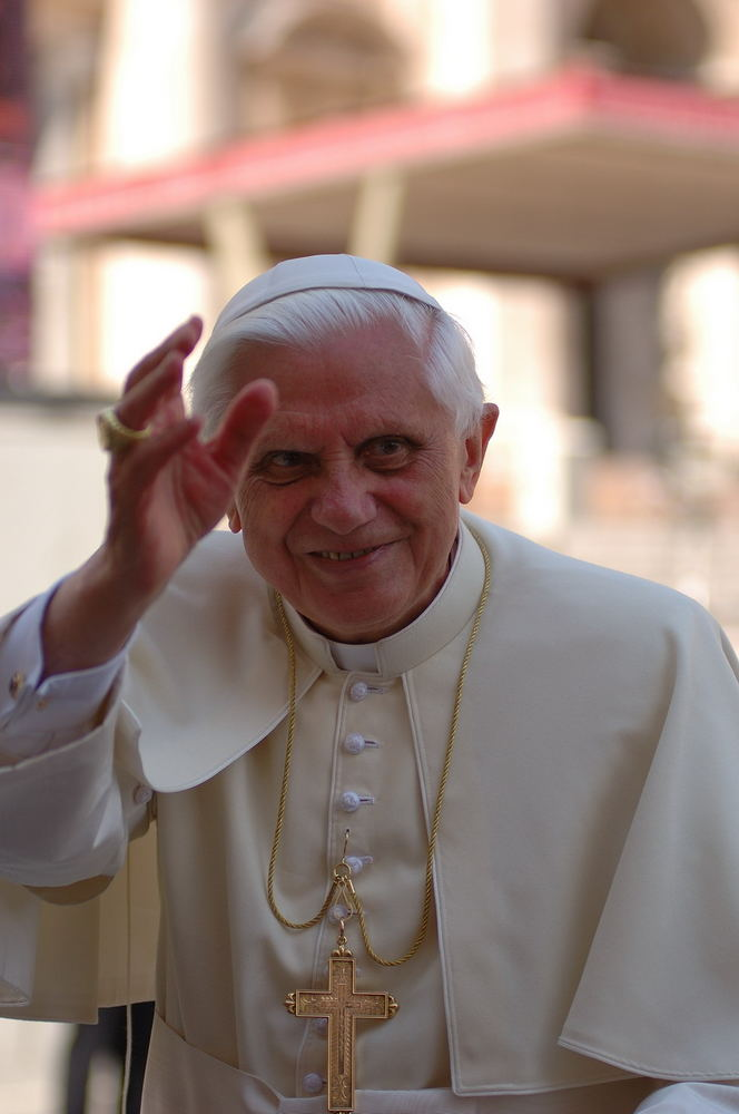"""Papst """"Benedetto"""""""