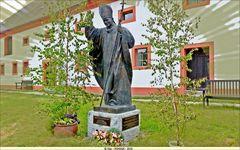 Papst Johannes Paul II in Ostritz