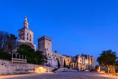 Papstpalast, Avignon, Provence, Frankreich