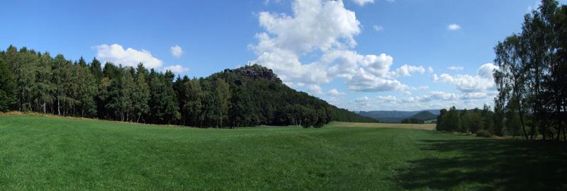 Papststein - Panorama im Elbsandsteingebirge