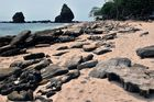 Papuma Beach in Jember province
