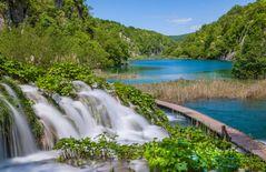 Paradiesische Wasserlandschaft