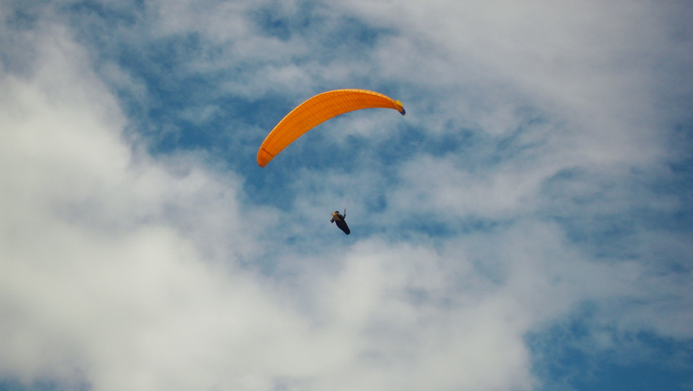 Paraglider in Kössen