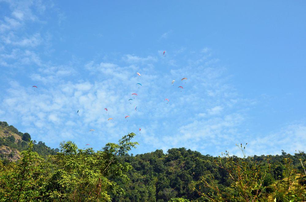 Paragliding in Sarangkot
