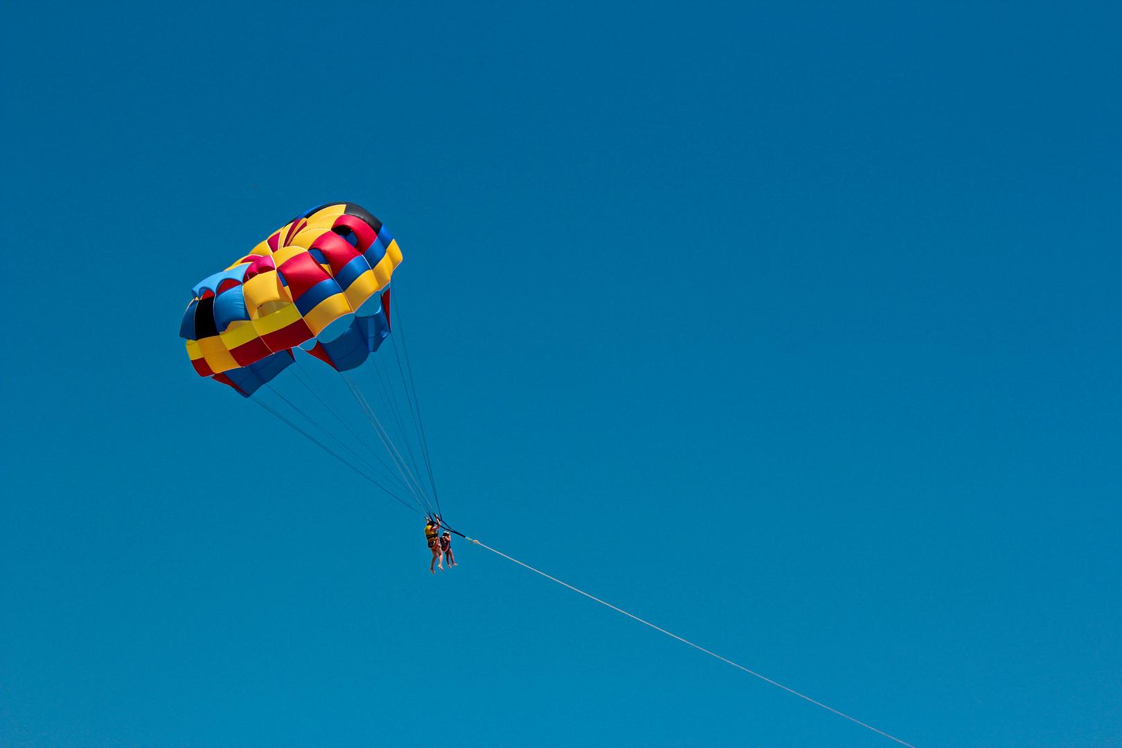 Paragliding in Tunesien