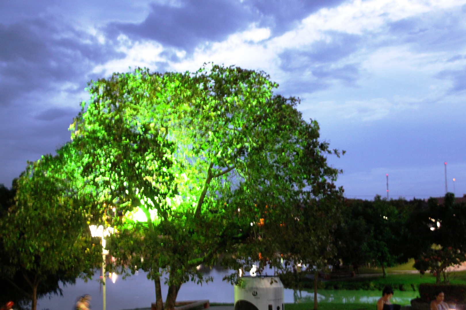 Paragominas Brazil in the evening 0377