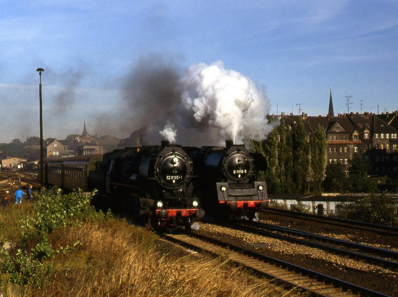 Paralellausfahrt in Bautzen