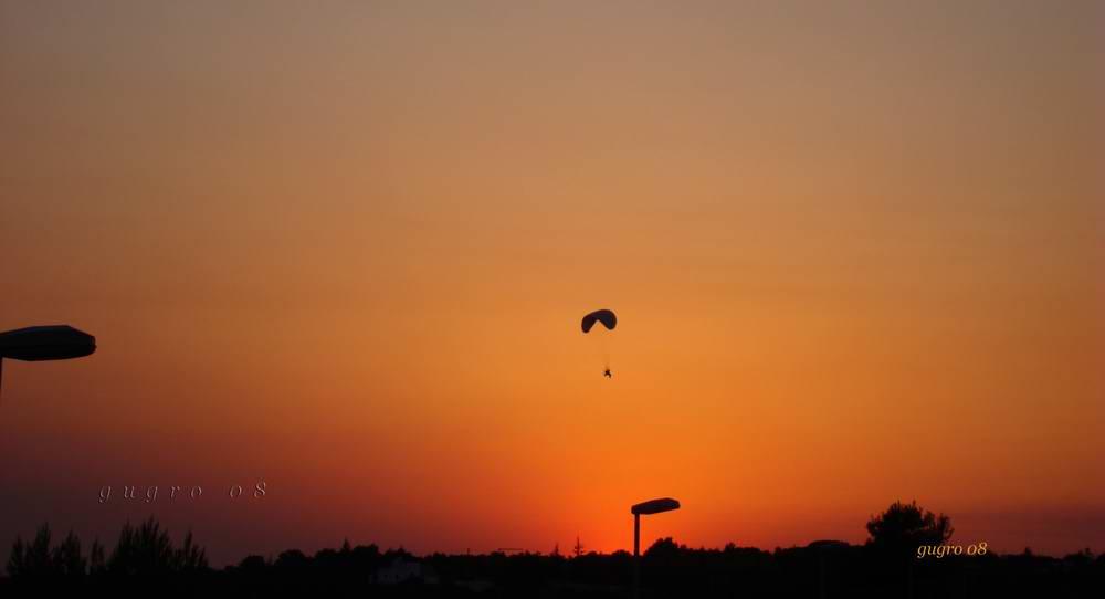 parapendio...al tramonto