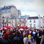 Parigi 1 - Montmartre, il mercato degli artisti