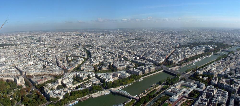 Parigi dalla Tour Eiffel