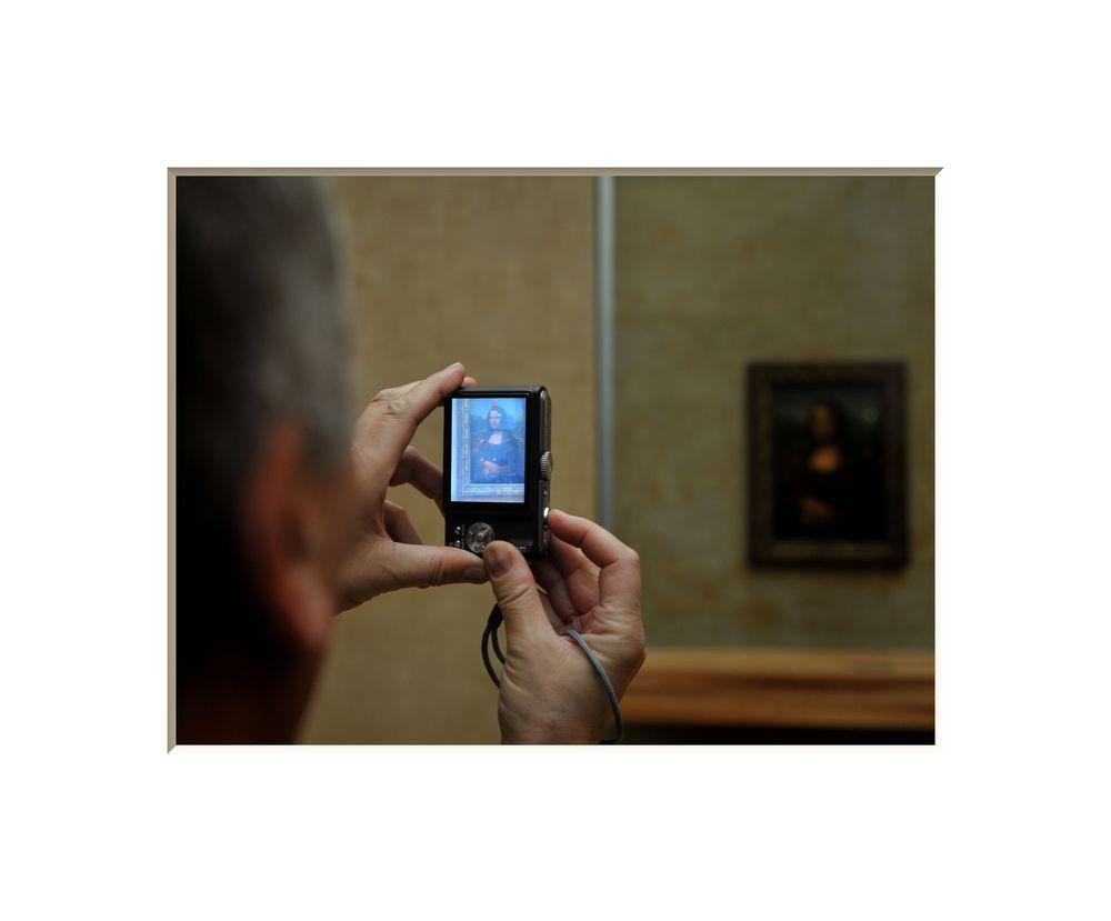 Paris #2 (Mona Lisa)