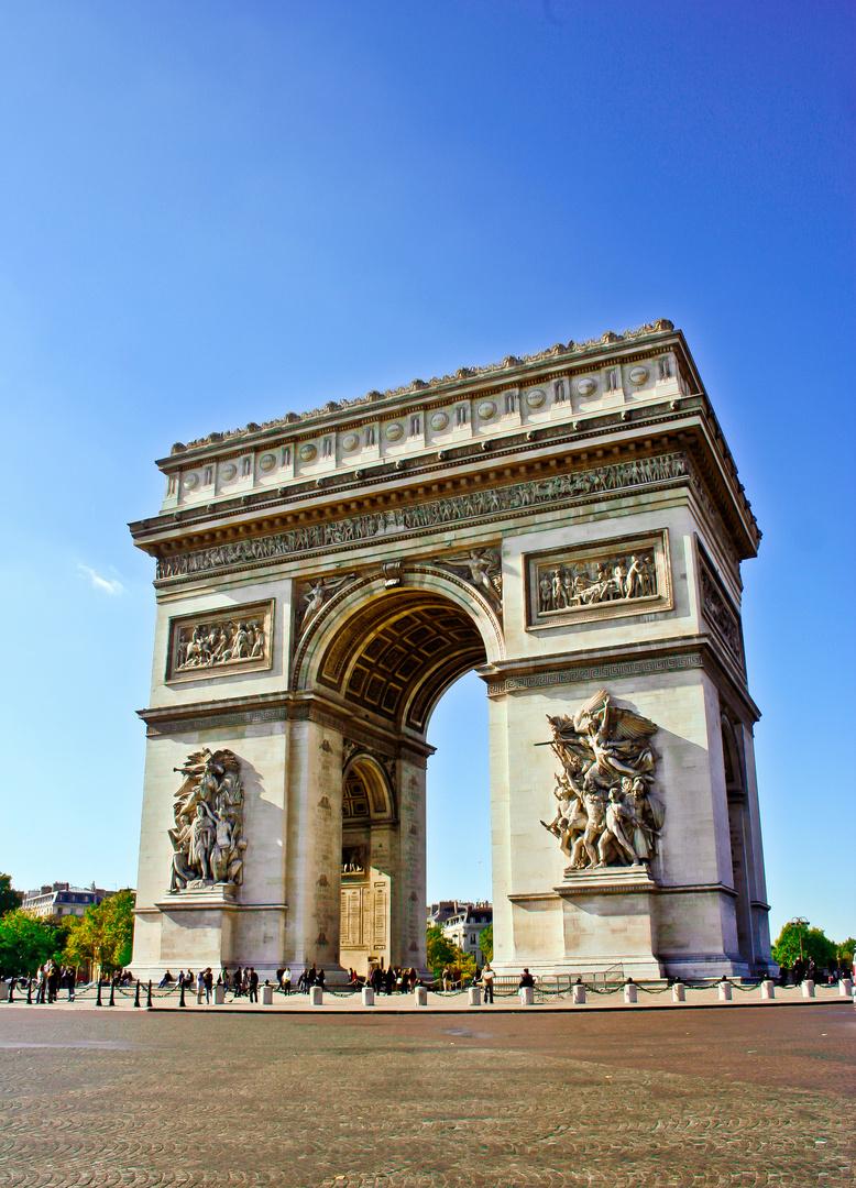 Paris Arc de Triomphe, Triumpfbogen