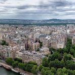 Paris - Blick vom Eiffelturm