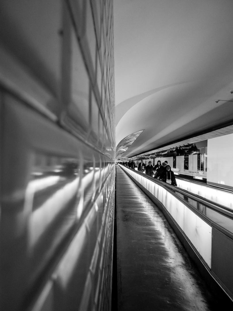 Paris B&W - el metro 2