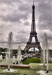 Paris - der Eiffelturm