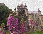 Paris Digital - Notre-Dame with Flowers