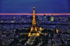 Paris . Eiffelturm