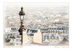 Paris en Passant. Artiste & Montmartre & Smog