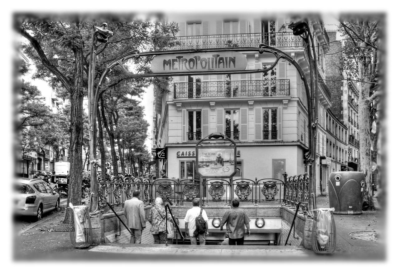 Paris - Escaliers du métro