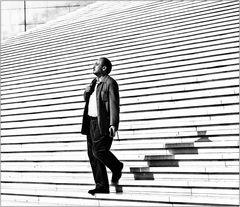 Paris - fier a La Défense ....