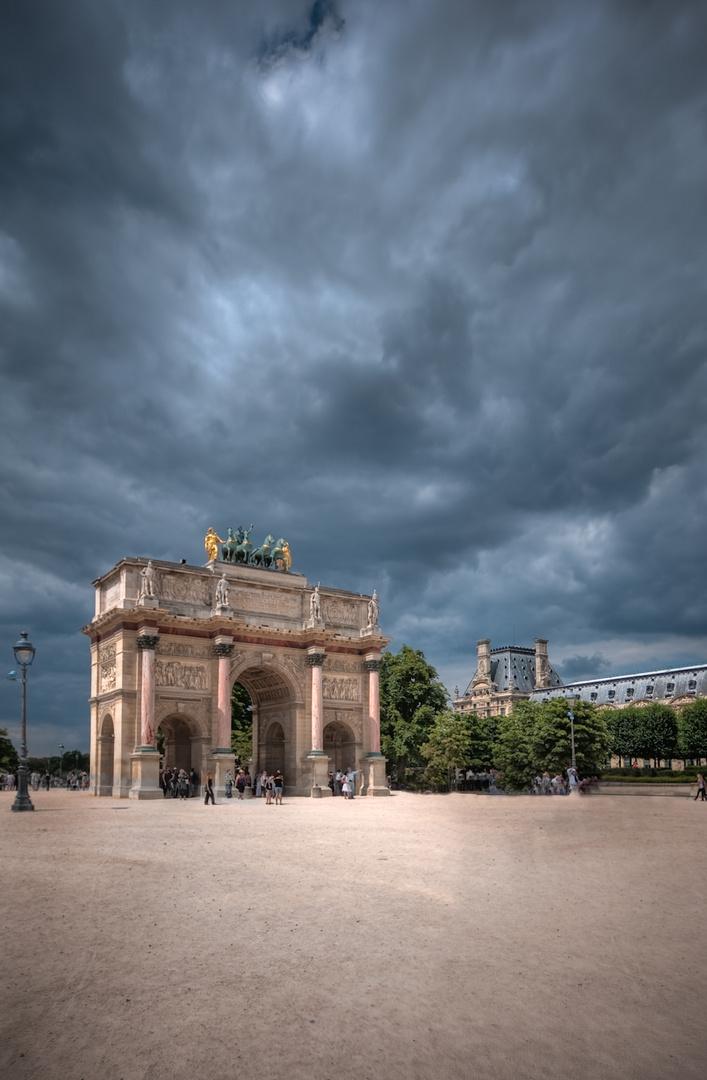 Paris HDR - Arc du Carrousel